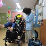 笑顔が広がるハンドリフレボランティア【重度心身障がい児施設@キッズサポートりま)